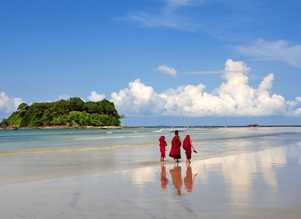 Những bãi biển đẹp tuyệt vời ở MYANMAR