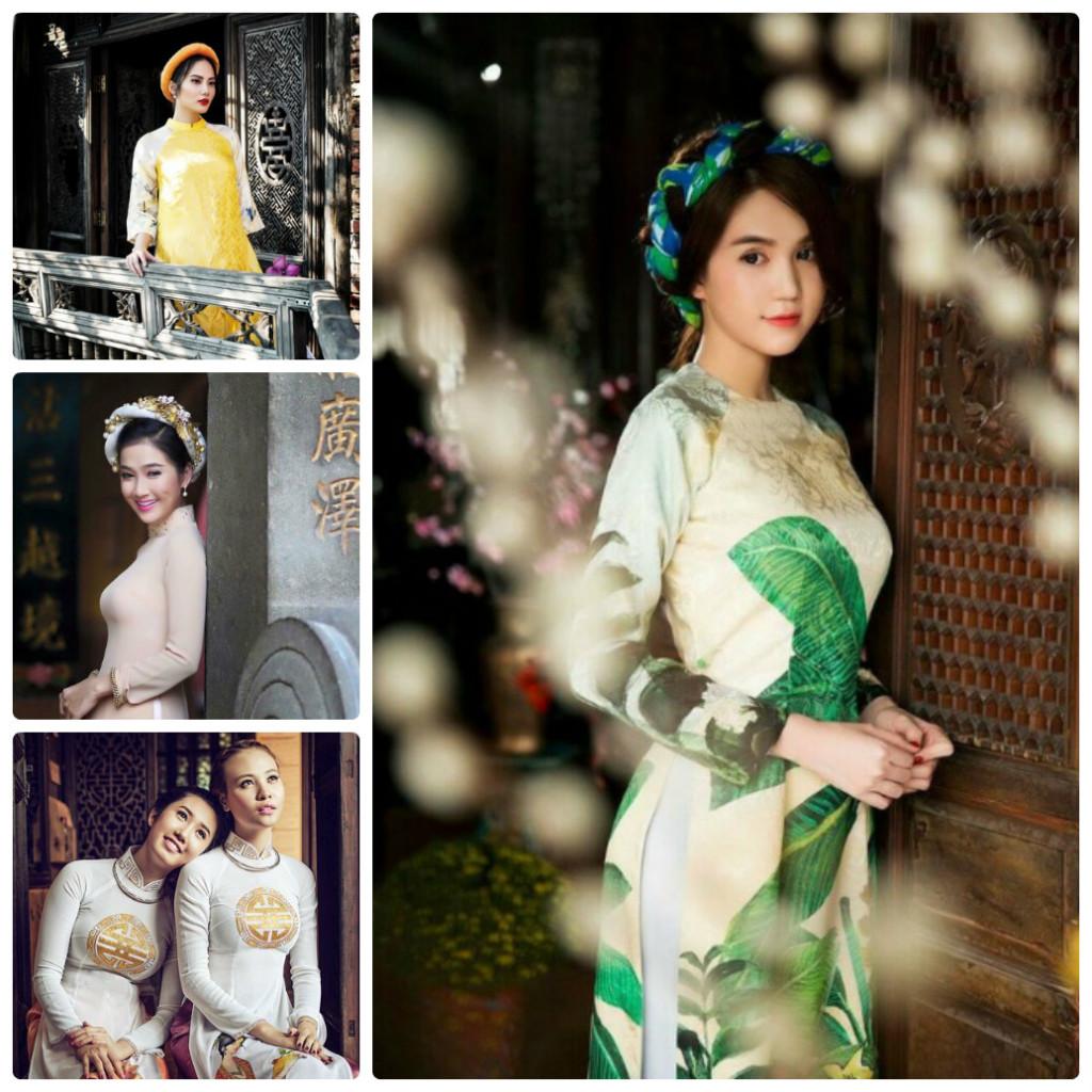 Khám phá vẻ đẹp người con gái Hội An với áo dài truyền thống
