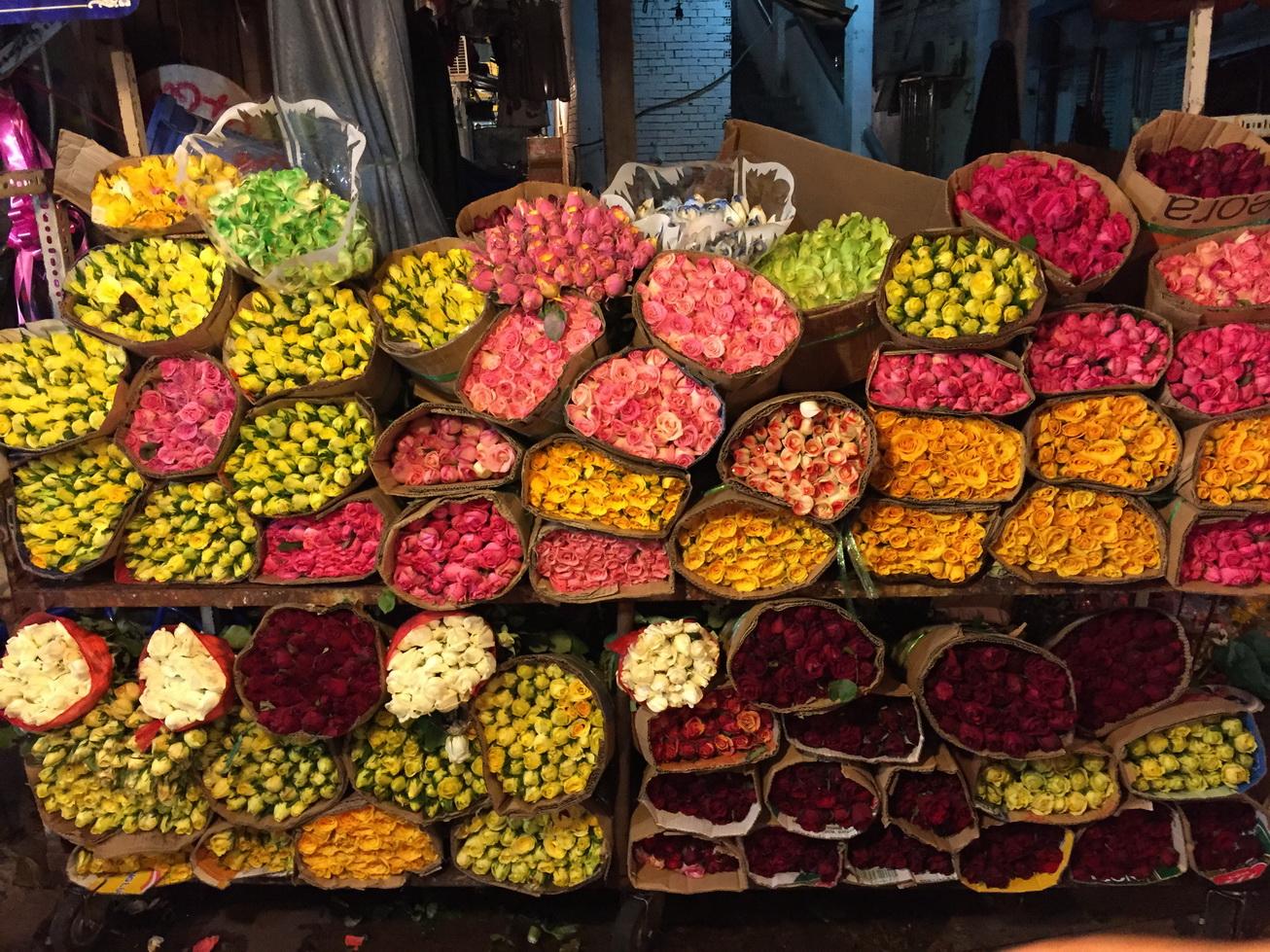 Thời điểm nào đi du lịch chợ hoa Hồ Thị Kỷ là tốt nhất