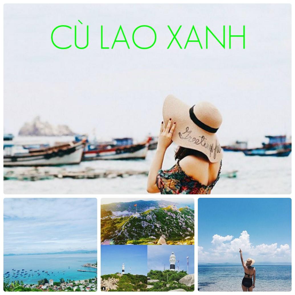 Khám phá tour du lịch Cù Lao Xanhmộtngày tại Quy Nhơn