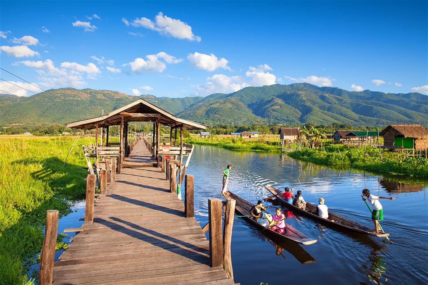 Hồ Inle thiên đường trên đất Myanmar