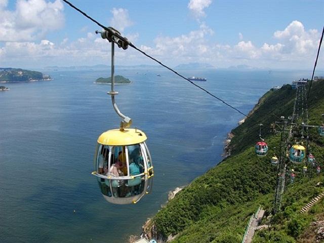 Đi cáp treo Hòn Thơm tận hưởng trọn vẹn vẻ đẹp mê hồn của Phú Quốc