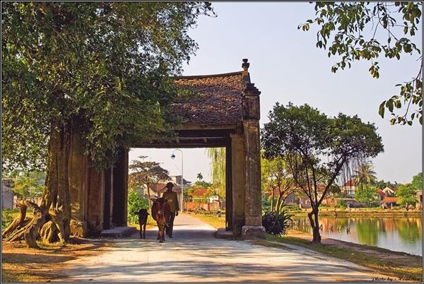 Thăm và khám phá làng cổ Đường Lâm ở Việt Nam