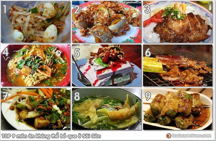 Tổng hợp món ngon Sài Gòn được nhiều người thích nhất hiện nay