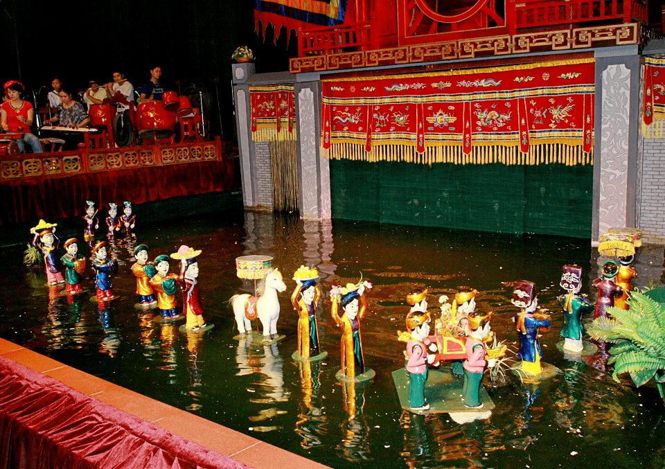 Múa rối nước – nét độc đáo của người dân Việt Nam