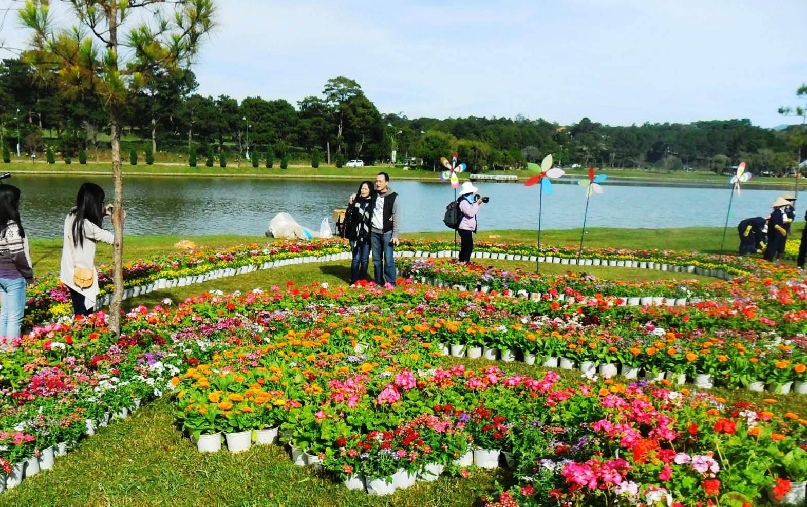 Khám phá vẻ đẹp thành phố hoa Đà Lạt