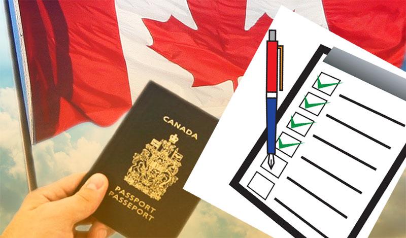 Check-list thủ tục xin visa Canada