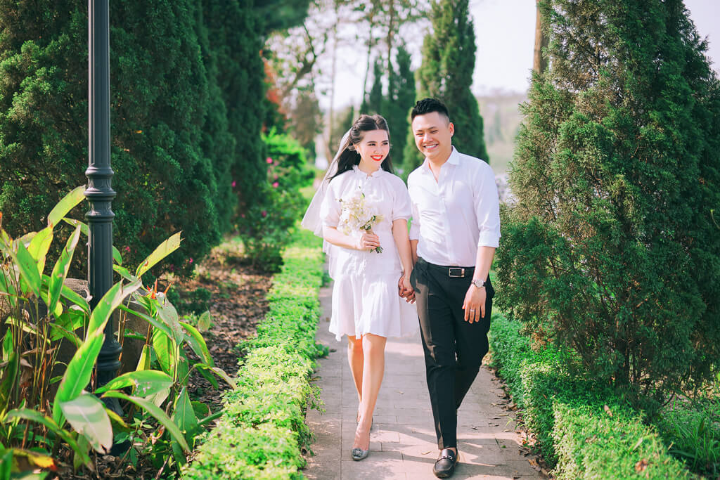 Top 8 địa điểm chụp ảnh cưới đẹp mê mẩn tại Hà Nội