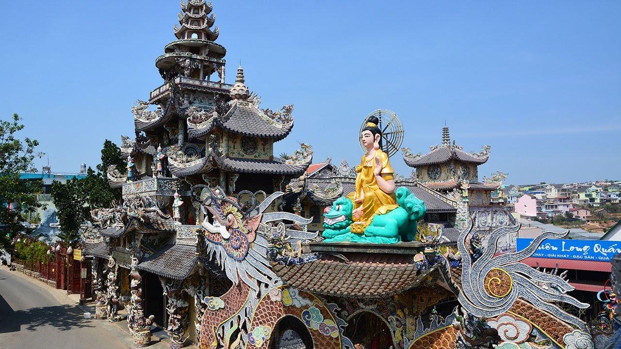 Chùa Linh Phước – Ngôi chùa đặc biệt tại Đà Lạt